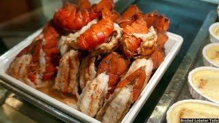 Princess Cruises Dinner Buffet Food 140+ Items (HD)