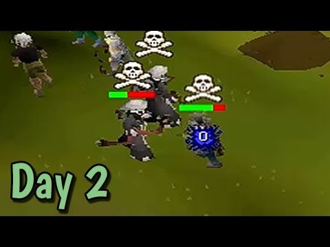 "So Wreck3d Pking Marathon Day #2 - ""Hunting Voiders"" - Runescape 2007"