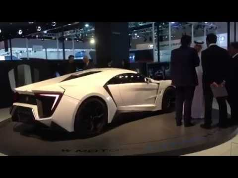 First LIVE look at W Motors Lykan Hypersport - Qatar Motor Show