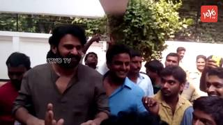 Prabhas Fans Celebrations At His House Video | HBD Prabhas | Saaho | Tollywood
