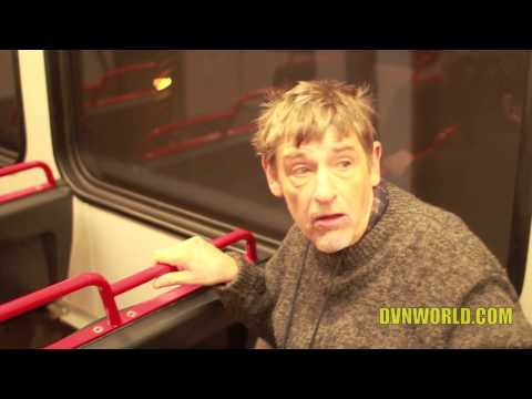Man talks about Mermaids on train in St. louis