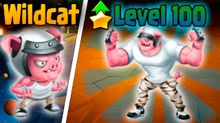 Monster Legends: Wildcat (Level 1 to 100) + Combat PVP