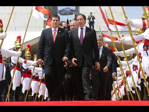 Presidente do Paraguai reforça parceria com o Brasil em visita ao Congresso