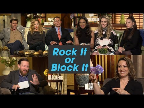 'Blockers' Cast Plays 'Rock It Or Block It'