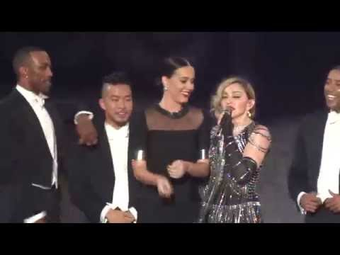 "Madonna ""Unapologetic Bitch"" with Katy Perry live @ Rebel Heart Tour - Los Angeles, CA  10/27/15"