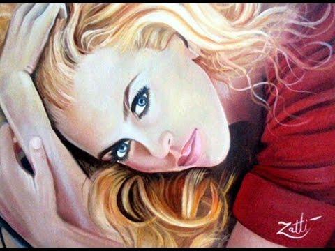 Nicole Kidman Painting video