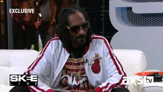 Snoop Dogg Discusses His Philosophy of Life on SKEE Live