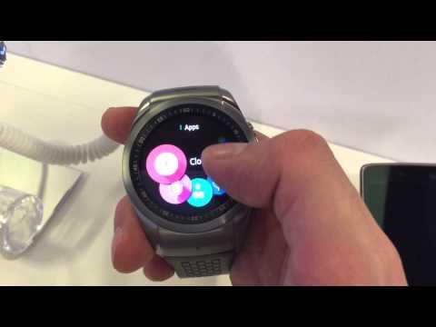 LG G Watch Urbane LTE con webOS - Demo MWC 2015