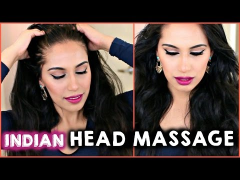 HOW TO APPLY COCONUT OIL,Indian Head Massage for Long, Thick, Healthy Hair | Treat Hair Fall