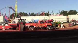Footloose wins 2013 NC State Fair Pull Sunday 21 Oct 2013