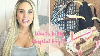WHAT'S IN MY HOSPITAL BAG FOR LABOR & DELIVERY! | AARYN WILLIAMS