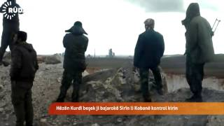 Hêzên Kurdî beşek ji bajarokê Sirîn li Kobanî kontol kirin
