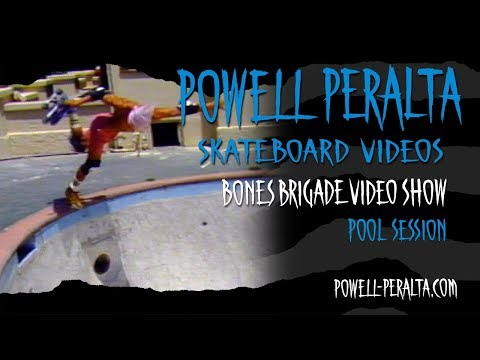 BONES BRIGADE VIDEO SHOW CH. 2  POOL SESSION