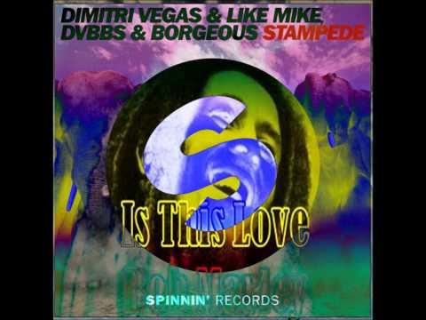 Stampede Dimitri Vegas Like Mike Dvbbs Bob Marley This Is Love Mashup video