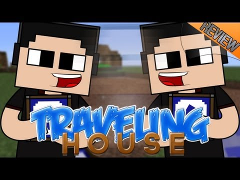 Minecraft de PC: Mod Review Traveling House para 1.5.1