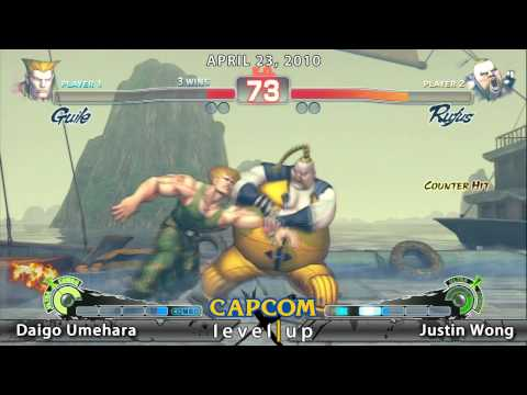 Capcom Fight Club LA - Daigo Umehara vs Justin Wong 1/2