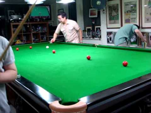 Test Dong Dong 50 consecutive pots (snooker training)