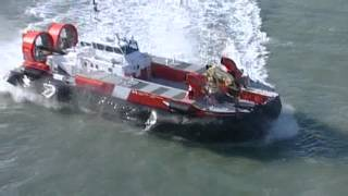 "Griffon AP188  Hovercarft ""Mamilossa"" in operation with Canadian Coast Guard"