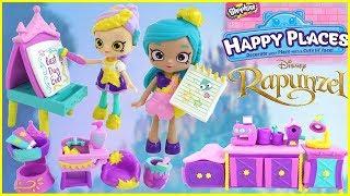 Disney Happy Places Season 2 Rapunzel Painter's Corner and Rapunzel Art's n Craft Theme Pack Unbox