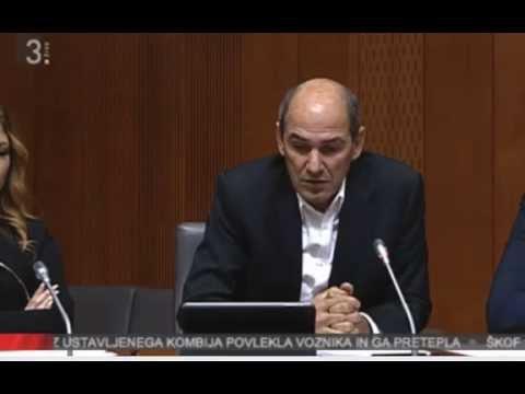 Janez Janša razprava na odboru glede migrantov