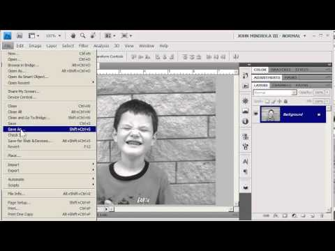 Photoshop 24-Bit Color, 8-Bit Grayscale, And Bitmap Lineart #photoshop #colormode - YouTube