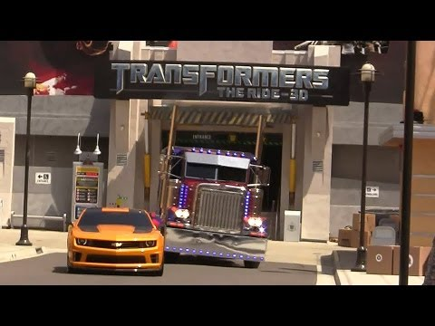 Grand Opening of Transformers: The Ride 3D at Universal Studios Hollywood