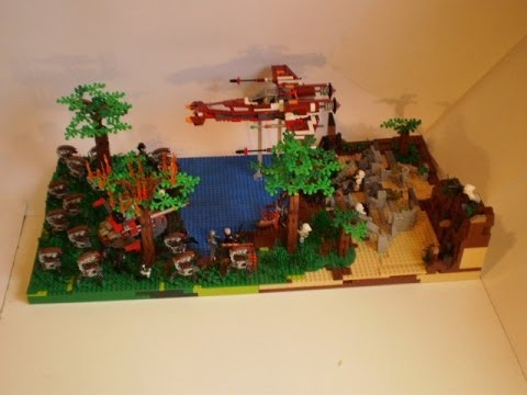 Lego Star Wars Alderaan Lego Star Wars Battle on