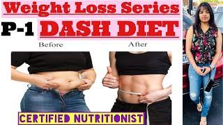 DIET SERIES| S3: DASH DIET | Extreme Weight Loss | Lose 15Kgs in 15 Days | Dash Diet Plan | Indian