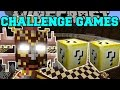 Minecraft: JUNGLE TRIBE CHALLENGE GAMES - Lucky Block Mod - Modded Mini-Game