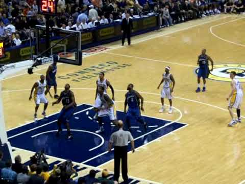 Tyler Hansbrough debut with Pacers Video