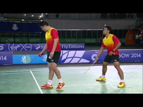 Md Gold - Mas Vs Sin - 2014 Commonwealth Games Badminton video