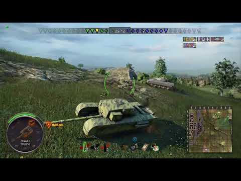 """Churchill Gun Carrier outplaying Cromwell B at """"Close Distance"""" - Mastery Ace Tanker 