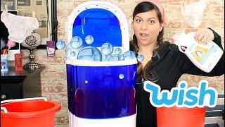 Portable Washing Machine Wish Review  - Vivian Tries