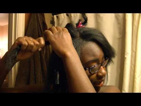 How To Straighten Transitioning Hair