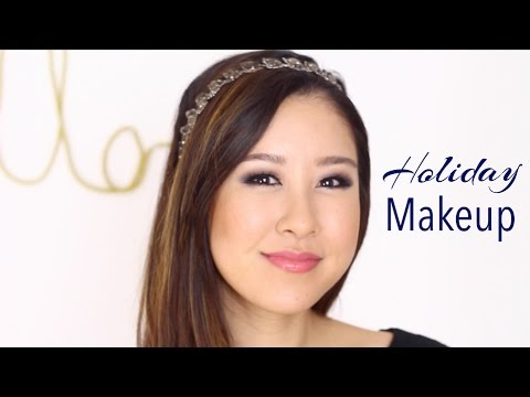 Chic Holiday Makeup