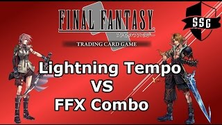 Final Fantasy TCG Duel Series - Lightning Tempo VS FFX Combo (FFTCG)