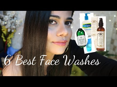 TOP 6 FACE WASHES FOR ALL SKIN TYPES FOR SUMMERS | Sana K