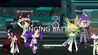 Singing battle || Part 1 || Gacha life || Read des! ||