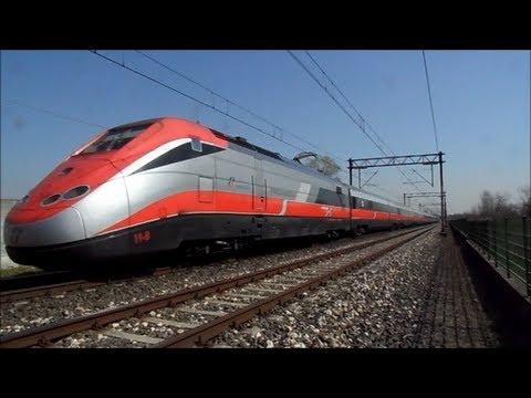 Ecco gli ultimi transiti in sequenza dell' EUROSTAR FRECCIAROSSA per MALPENSA AEREOPORTO, sulla linea delle Ferrovie Nord Milano per BUSTO ARSIZIO nel mese di APRILE. Con il nuovo orario estivo...