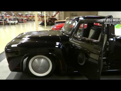 1954 Ford Custom Pickup for sale at Gateway Classic Cars in St. Louis,