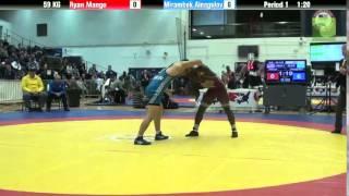 59 KG Bronze - Ryan Mango (Minnesota Storm) vs. Mirambek Ainagulov (Kazakhstan)