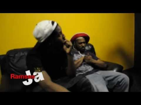 Schoolboy Q Crashes ASAP Rocky Interview (HD part 1)