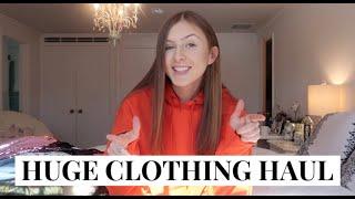 huge clothing haul   brandy, urban, zara & more