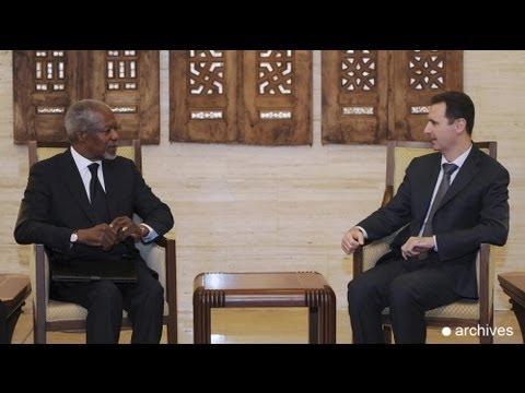 Assad acepta el ultimátum de Kofi Annan para implementar el plan de paz