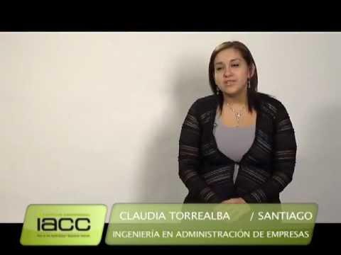 Testimonios de Egresados: Claudia Torrealba