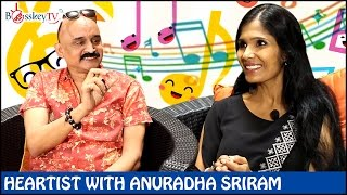 Asha Bhosle is my idol says Anuradha Sriram | Exclusive Interview | Heartist | Bosskey TV