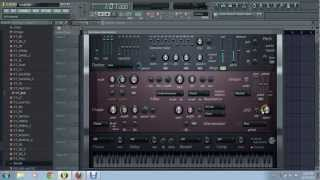 HOW TO MAKE YAYA BASS IN FL STUDIO WITH HARMLESS