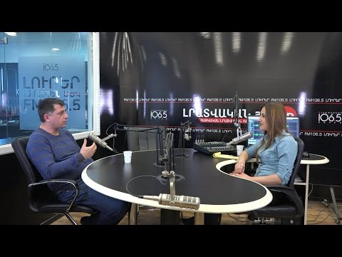 "ULS at ""Business Anatomia"" on Armenian News Radio FM 106.5"