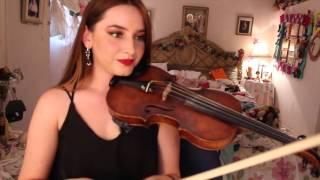 HOW TO PLAY VIVA LA VIDA ON VIOLIN!! EASY TUTORIAL - PRISCILLA MUSIC