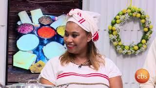 ድምፃዊት ትዕግስት ወይሶ የወላይታ ምግቦች ዝግጅት በእሁድን በኢቢኤስ/ How To Prepare Wolayita Food With Tigest Weyiso